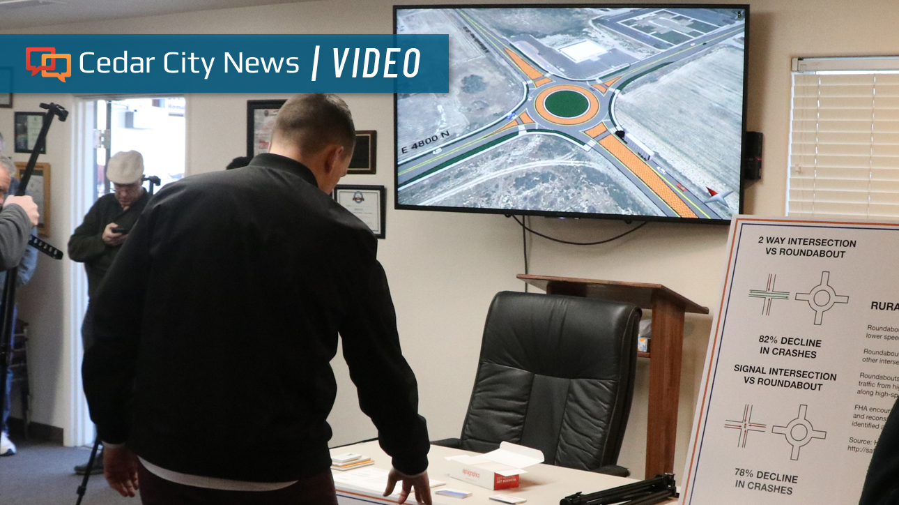 """Featured image for """"UDOT open house in Enoch addresses planned roundabout, other SR-130 improvements"""""""